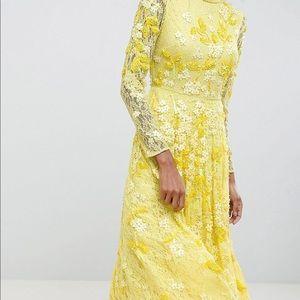 ASOS Dresses - ASOS ADDITION All over lace embellished midi dress